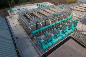 Photo Credit | United Utilities Innovative modular steel rapid gravity filters
