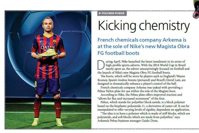 Kicking Chemistry