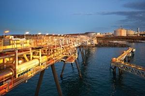 Woodside petroleum's Pluto LNG plant