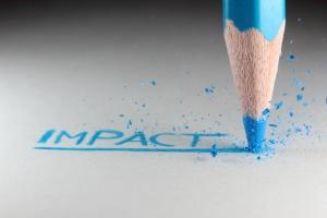 Pencil writing impact
