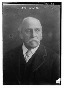 John Fletcher Moulton, Baron Moulton, c.  1913