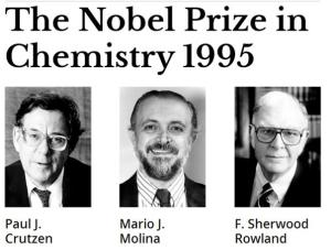 Nobel Prize Chemistry 1995