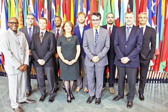 OPCW Nobel Prize winning team