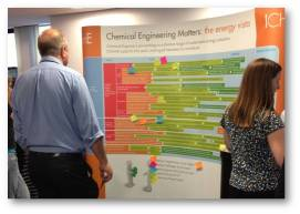 IChemE members engaging with the energy 'vista'
