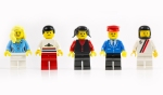 Lego figures. Credit seewhatmitchsee - Shutterstock.com
