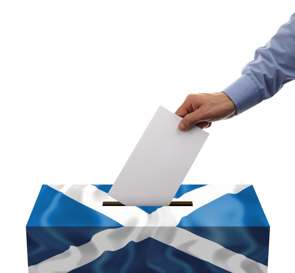 Scottish Independence Ballet Box