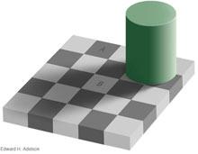 Grey visual trick