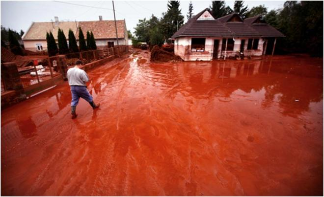 Red mud pollution