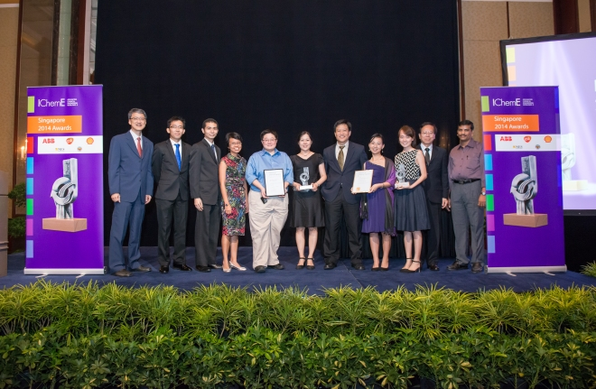 Singapore Awards winners