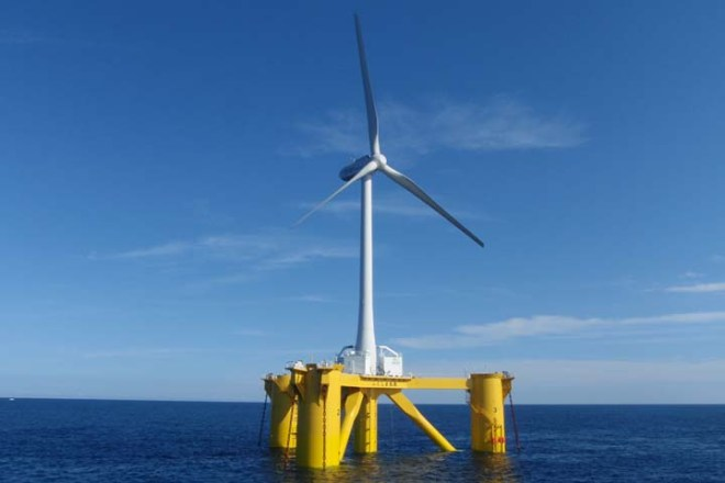 Fukushima Floating Wind Turbine