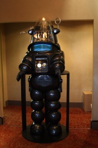 Robby the Robot. Picture:  S Bukley Shutterstock.com