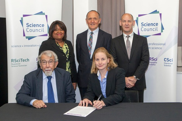 Diversity Signing - Science Council