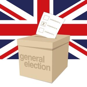 ballot box - uk election