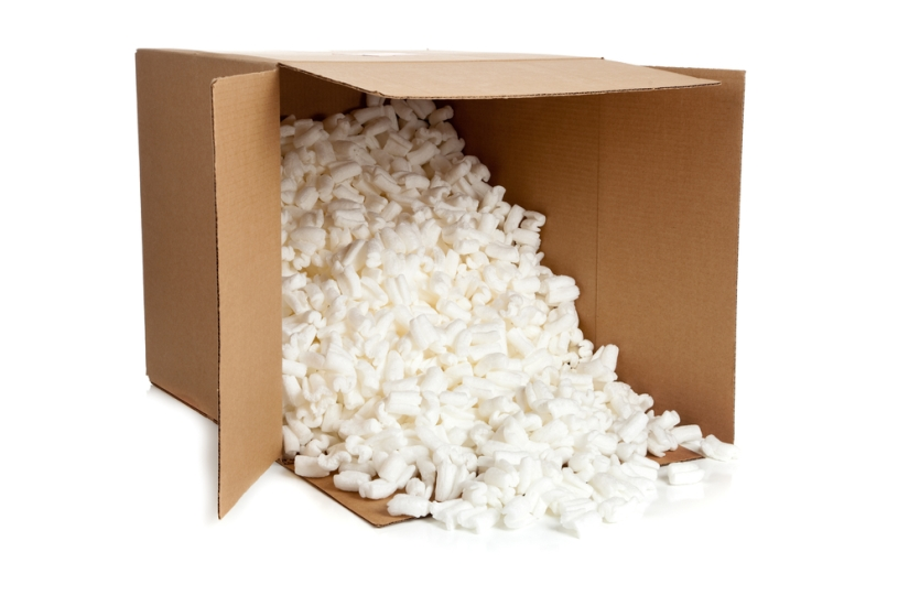 Turning packing peanuts* to power (Day329)