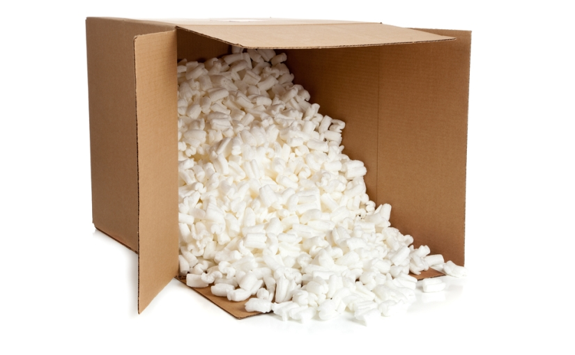 Turning packing peanuts* to power (Day 329)