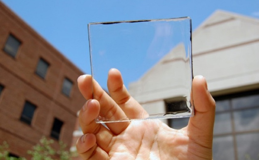 World's first fully transparent solar cell (Day 328)
