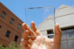transparent luminescent solar concentrator module