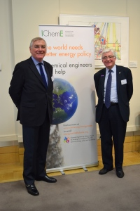 Andrew Jamieson, IChemE President 2015-2016; and myself, Geoff Maitland, IChemE President 2014-2015