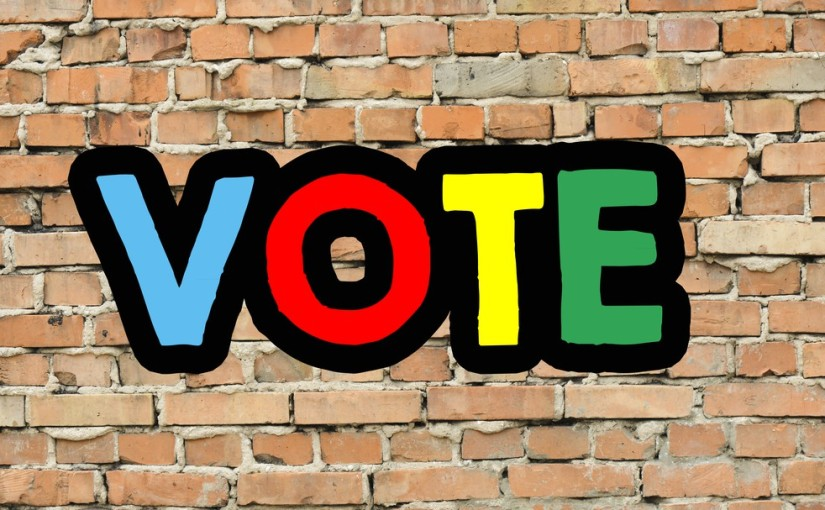 Make your voice heard – vote! (Day 345)