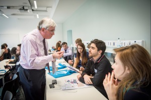 Professor Geoff maitland encourages chemical engineers to 'Stand Up & Speak Out.'