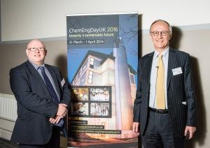 Professor Tim Mays and Professor Jonathan Seville