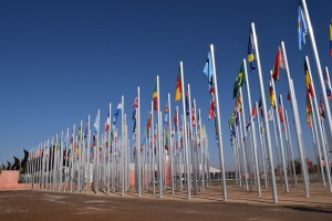 Flags of COP22