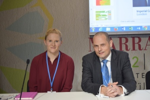 viewpoint-dr-rachael-hall-and-mark-apsey-at-cop22-side-event