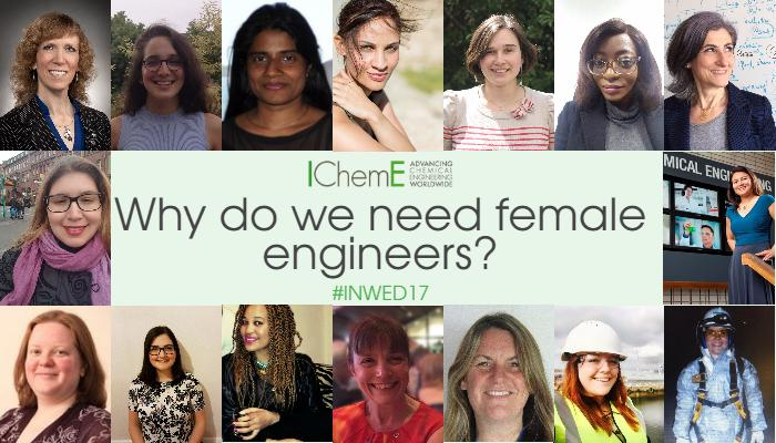 Why do we need female engineers? #INWED17
