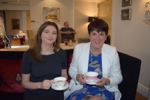Erin Johnson and Judith Hackitt - tea - SM