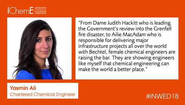 How do you feel female chemical engineers are raising the