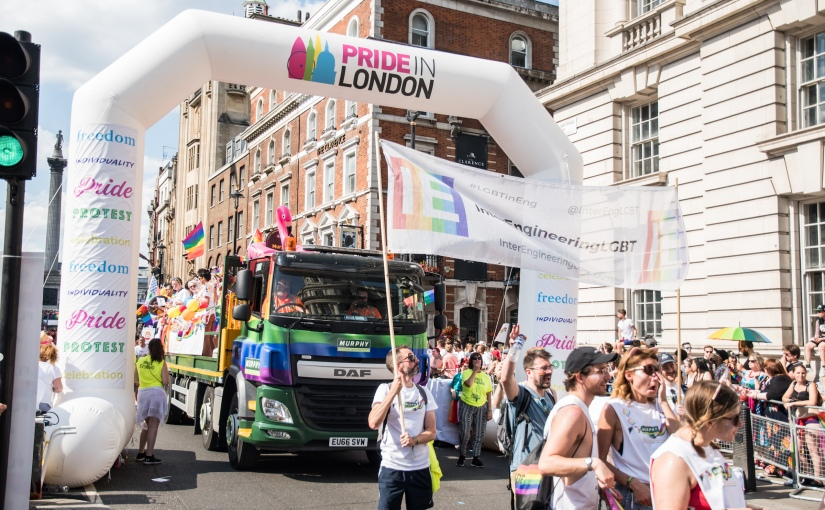 Flying the flag for LGBT engineers – London Pride 2018