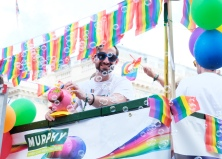 John Bradbury celebrates Pride in London 2018