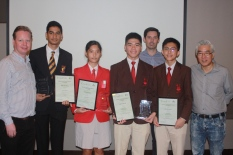 Singapore AGM - SSEF Winners - Press