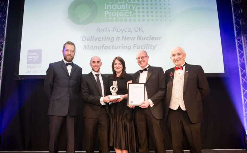 Chemical engineers roll out new nuclear facility – IChemE Industry Project Award Winner 2018