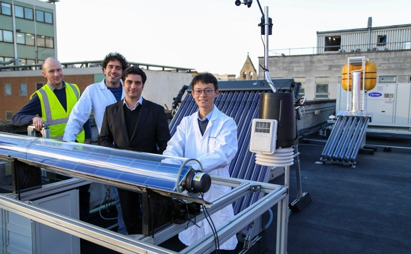 Solar power and electricity combined to produced renewable energy – IChemE Research Project Award Winner2018