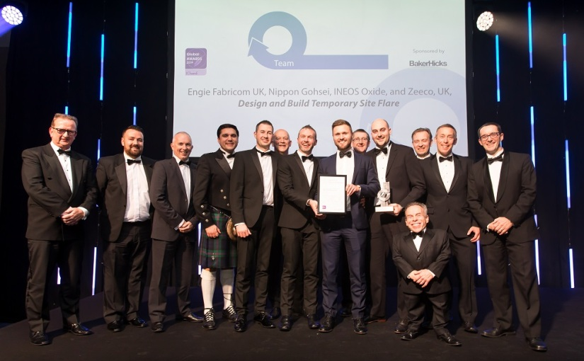 Teamwork fires up flare in seven months – IChemE Team Award Winner 2019