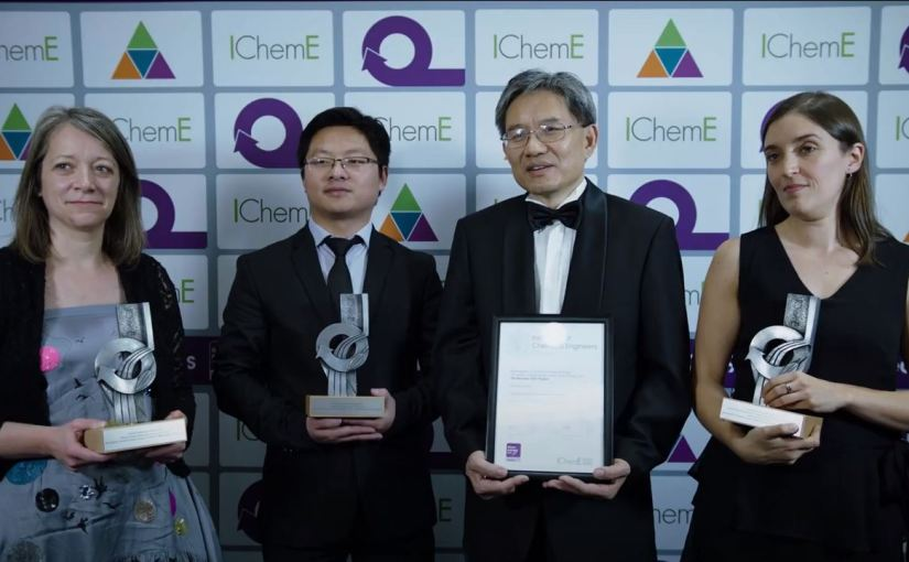 Storing surplus energy – IChemE Energy, Research Project & Outstanding Achievement Award Winner 2019